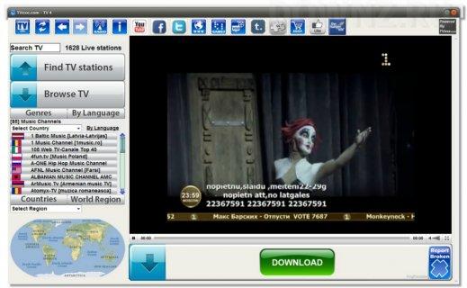 Торрент-ТВ: Все каналы Вход